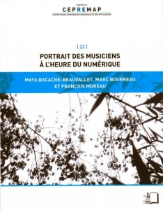 Ouvrage - Moreau - Portrait des musiciens à l'heure du numérique