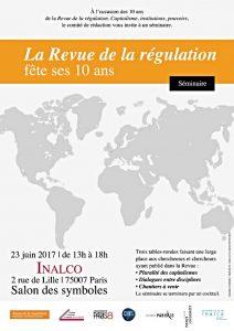 10 ans de la Revue de la régulation