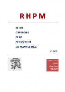 Pages de RHPM n° 1 janvier à juin 2015